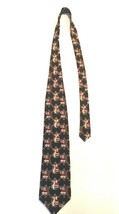 Hallmark Holiday Necktie Traditions By MMG Men's Tie Christmas Santa 100% Silk - $14.99