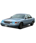 Bright Blue LED Headlight Halo Ring Kit for Mercury Grand Marquis 98-02 - $96.33