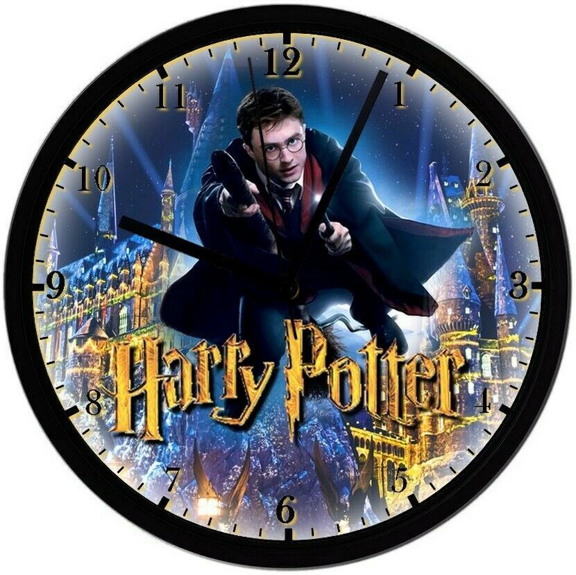 "Primary image for EXCLUSIVE! Harry Potter 8"" Unique Homemade Wall Clock w/ Battery Included"