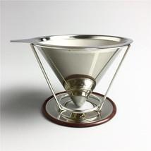 Coffee Filter Stainless Steel Coffee Filter Metal Coffee Tea Filter Bask... - €20,15 EUR
