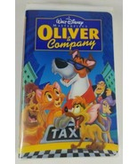 Oliver and Company VHS A Disney Masterpiece 1996 Movie  - $9.49