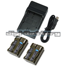 MaximalPower Battery + Charger Combo for CANON BP-511 EOS 20D 40D 50D 300D - $5.93+