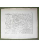 GERMANY Hohenlinden & Environs + Battle of 1800 - (2) Two Maps 1848 Fine... - $17.09