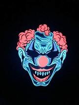 Sound Responding Light up Clown Mask - $39.41 CAD