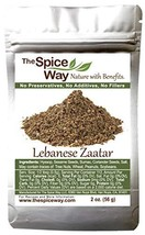 The Spice Way - Traditional Lebanese Zaatar with Hyssop | 2 oz | No Thyme that i