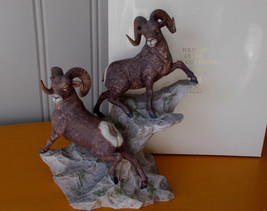 Lenox Wildlife of the Seven Continents Porcelain Figurine Big Horn Sheep... - $68.00