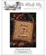 Peace On Earth christmas cross stitch chart The Wooley Ewe  - $6.00