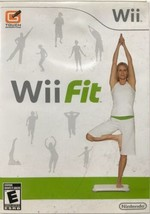 Wii Fit (Nintendo Wii, 2008) GAME COMPLETE FITNESS WORKOUT EXERCISE YOGA... - $7.99