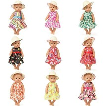 For 43cm 17inch born baby dolls clothes lastic shirt lace dress for baby... - $4.09+