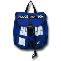Doctor Who Blue Tardis Knapsack Blue-Royal - $51.98