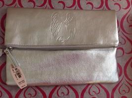 Victoria's Secret Angel Clutch Make Up Bag In Silver Bling ...cute $68 v... - $18.80