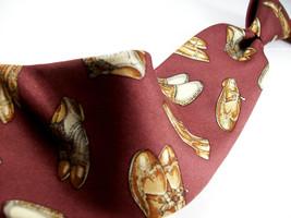 J PRESS  England   SHOES Burlington Knot  Mens 100 SILK Necktie  8-1213 - $15.99