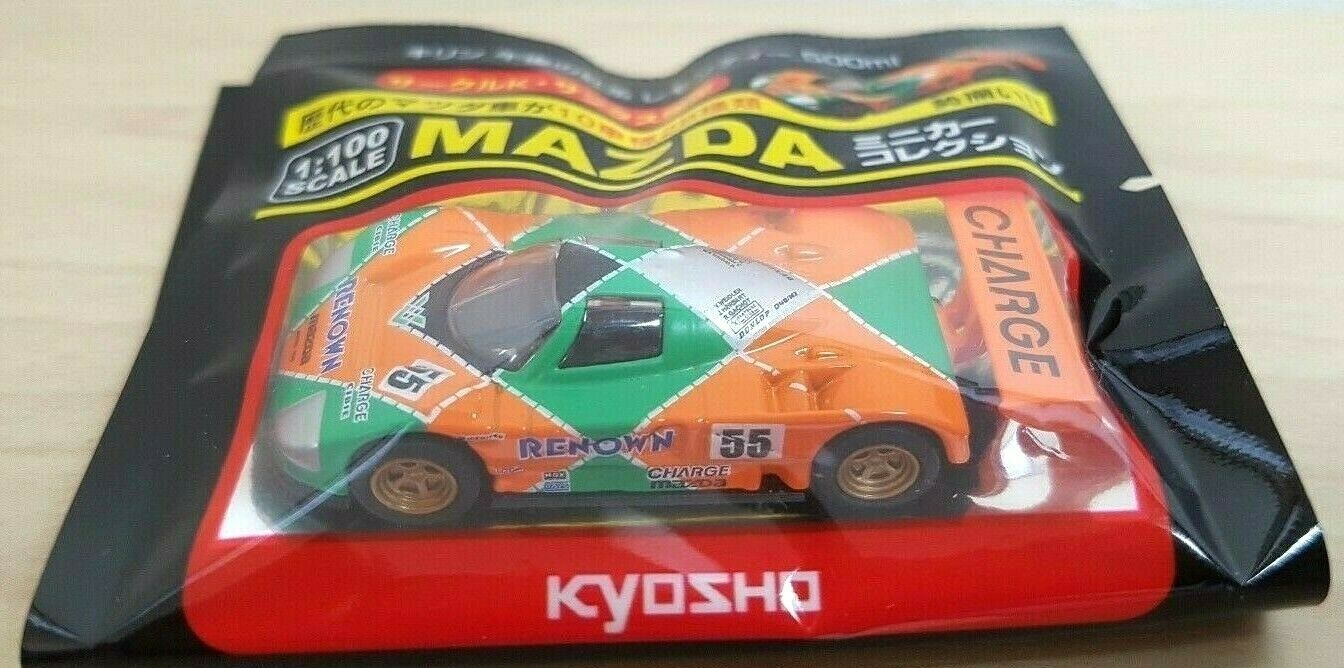 Primary image for 1/100 Kyosho MAZDA 787B Le Mans 24H #55 Renown diecast car model NEW