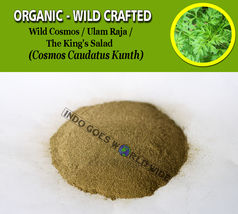 POWDER Wild Cosmos Ulam Raja The King's Salad Cosmos Caudatus Kunth Orga... - $7.99+