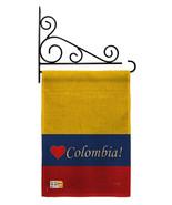 Colombia Burlap - Impressions Decorative Metal Fansy Wall Bracket Garden... - $33.97