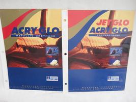 Sherwin Williams Aerospace Coatings Paint Catalogs JetGlo AcryGlo Aircraft - $19.79