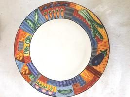 Johnston Brothers Caribbean Design 3 Dinner Plates Stone Wear - $126.23
