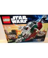 Lego ✰ Star Wars #8097 ✰ SLAVE 1 ✰ SEALED Brand NEW mini figure  RETIRED - $169.95