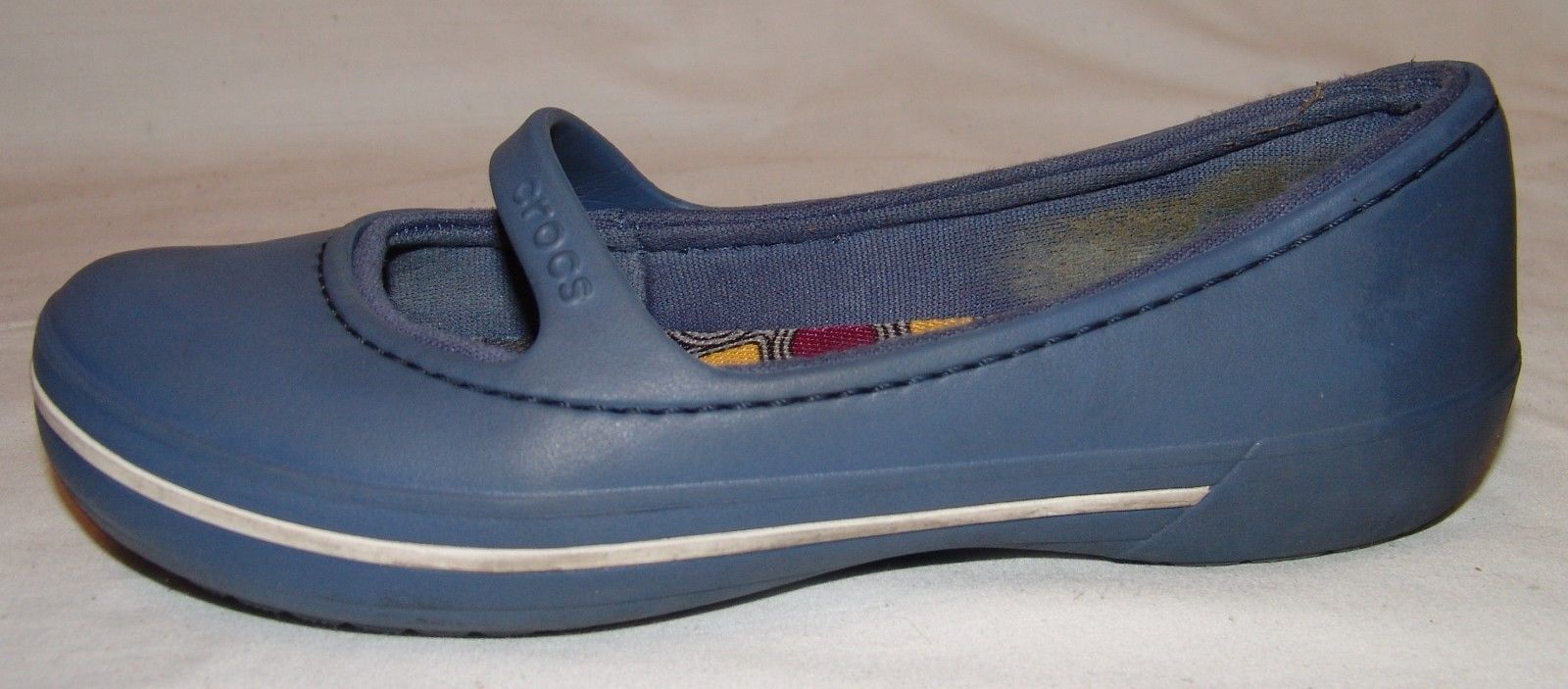 6c6375dfaadc0d Crocs Womens Blue Slip On Shoes 6 Mary Jane and 50 similar items