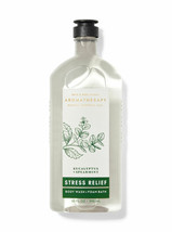 BATH BODY WORKS AROMATHERAPY STRESS RELIEF EUCALYPTUS SPEARMINT BODY WAS... - $10.88