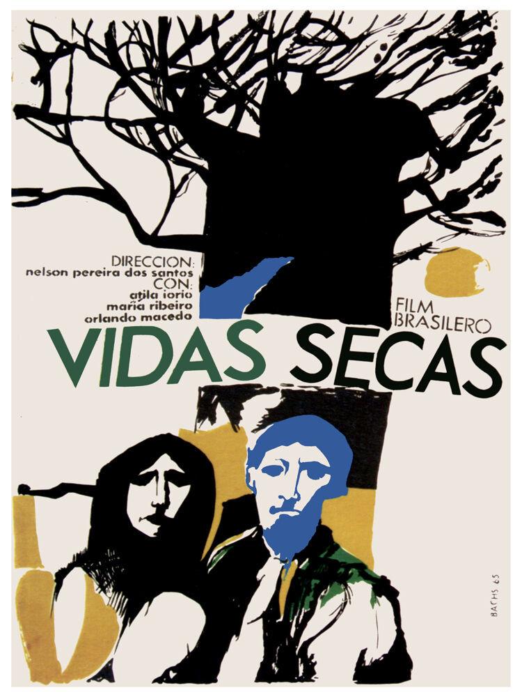 Vidas Secas, dry lvies Vintage POSTER.Graphic Design. Wall Art Decoration.3171 - $10.89 - $74.25