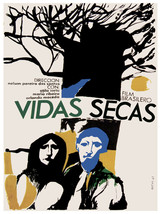 Vidas Secas, dry lvies Vintage POSTER.Graphic Design. Wall Art Decoratio... - $10.89+