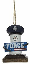 Midwest-CBK S'Mores Military Christmas/Everyday Ornament - Airforce - $14.80