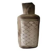 Gray Abstract Clay Vase - $35.00