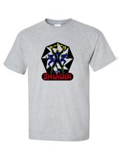 Shinobi T-shirt retro arcade video games vintage style distressed heather grey image 2