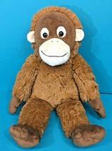 "Build A Bear Orangutan Monkey Ape Brown 18"" Plush Zoo Stuffed Animal BAB... - $44.95"