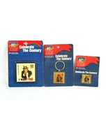Celebrate the century I want you 32 cent stamp pin magnet and keychain - $13.43