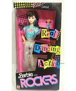 1986 Mattel Real Dancing Action Barbie And The Rockers Dana Doll 3158 Se... - $79.99