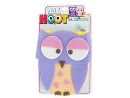 Give a Hoot Felt Owl Coin Purse  Lot of 24 - $29.99