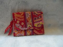 Vera Bradley trifold wallet in Raspberry Fizz pattern - $14.50