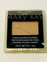 Mary Kay Creme-to-Powder Foundation Ivory 1 - Sealed - Case Damaged, Cre... - $12.86