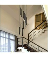 Modern Led Pendant Lamps Long Tube Gold Silver Kitchen COB Cylinder Pipe... - $34.74+