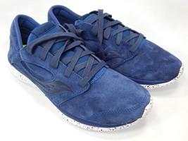 Saucony Kineta Relay Suede Men's Running Shoes Size 9 M EU 42.5 Navy S40006-4