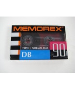 Memorex DB 90 Blank Cassette Tape - Type I Normal Bias - Never Opened - $7.84