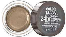 Maybelline EyeStudio Color Tattoo 24Hr Eyeshadow #85 Deep Forest 0.14oz. - $2.99