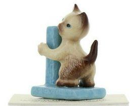Hagen Renaker Miniature Cat Siamese Kitten with Scratching Post Ceramic Figurine image 10