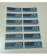 Singapore Post Airmail Sticker MNH Postal Par Avion - $9.89
