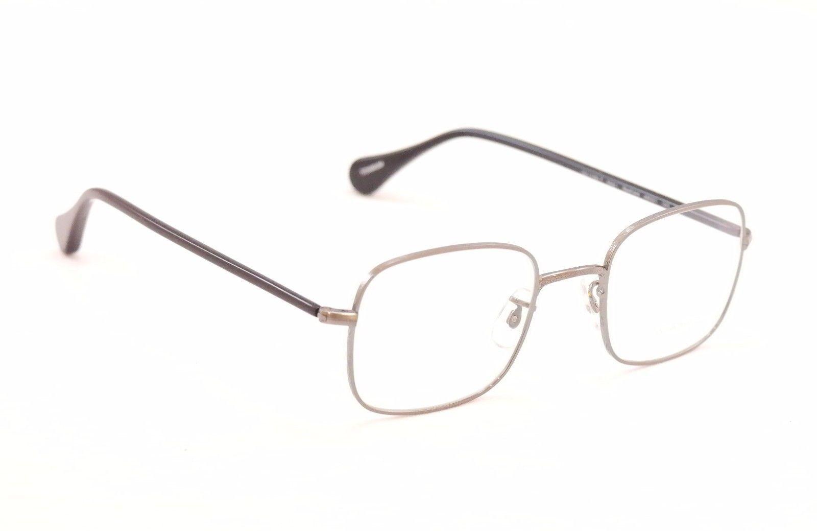 0d9509bb3ae Authentic Oliver Peoples Eyeglasses Titanium Frame OV1129T Redfield Pewter  Black
