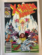 Uncanny X-Men Annual #8 Original Marvel Comic Book from 1984 VF Condition - $4.49