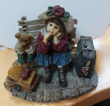Boyds Bears Shannon and Wilson...Wait'n For Grandma-Dollstone #3533 - $28.71