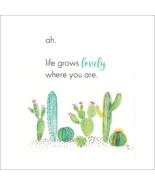 Life Grows Lovely Art - Succulent Digital Print - $24.99
