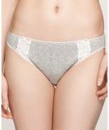 Charter Club Pointelle Cotton Bikini Heather Grey XS - £6.33 GBP