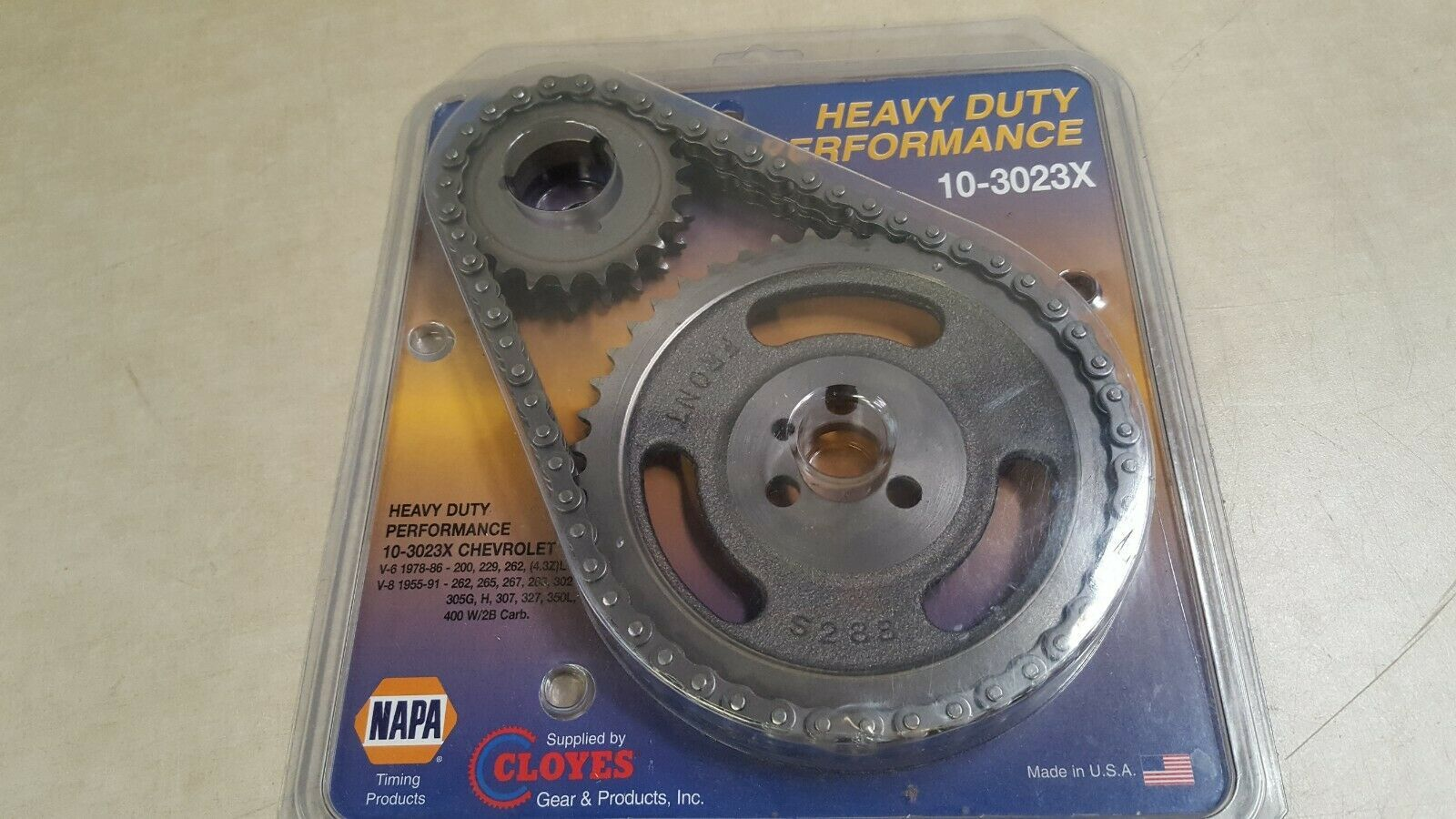 NAPA Heavy Duty Performance Timing Set - 3 Piece - NTP 103023X