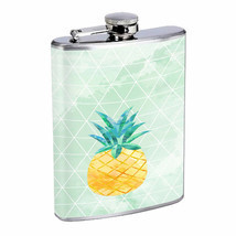 Pineapple Em2 Flask 8oz Stainless Steel Hip Drinking Whiskey - £10.54 GBP