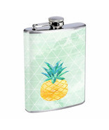Pineapple Em2 Flask 8oz Stainless Steel Hip Drinking Whiskey - £10.46 GBP