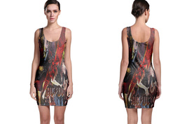 ACDC Collection #1 Women's Sleevless Bodycon Dress - $21.80+
